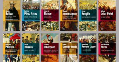 12 nuevos títulos de la Colección Bicentenario Carabobo